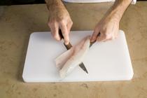 technique pour lever un filet de poisson