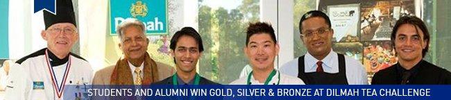students and alumni win bronze at Dilmah Tea Challenge