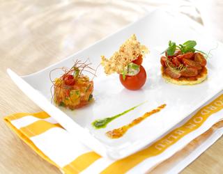 Recette - La tomate en trois façons