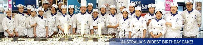 Australia's widest birthday cake!