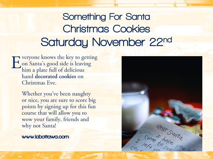 Christmas Cookies Gourmet Session Info