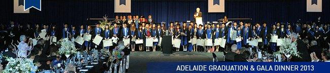Le Cordon Bleu Adelaide Graduation & Gala Dinner 2013
