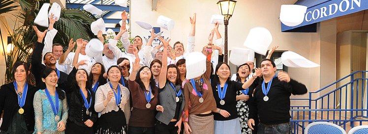 Remise de Diplômes Le Cordon Bleu Paris décembre 2008