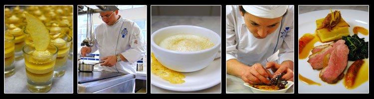 Le Cordon Bleu London student dinner