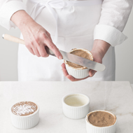 The best way to prepare soufflé ramekins