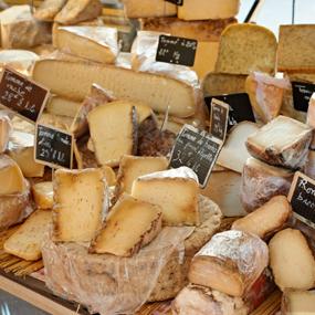les différentes familles de fromages