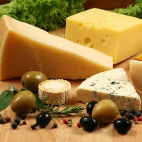 Présenter un plateau de fromage