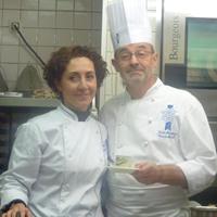 Esra Özkutlu and Chef Tranchant