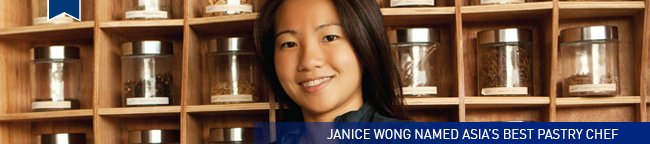 Janice Wong named Asia's Best Pastry Chef