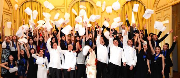 Photo - graduation ceremony