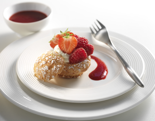 Recipe - Choux pastries filled with lemon cream and red berries