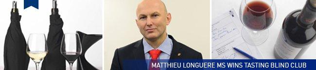 Matthieu Longuere MS wins Tasting Blind Club 2013-14