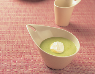 Recipe - Chilled cucumber and kimchi soup