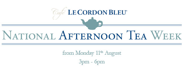 Cafe Le Cordon Bleu - Afternoon Tea Week
