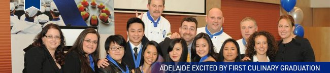 Le Cordon Bleu Adelaide Culinary Graduation