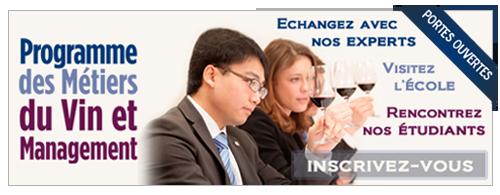 Portes Ouvertes Programme des Métiers du Vin et Management
