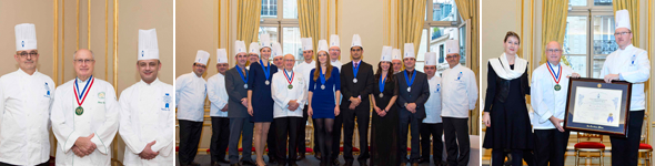 Winter session 2014 Culinary Arts Diploma graduation ceremony