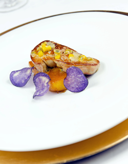 Recipe - Pan-fried foie gras with mango and passion fruit