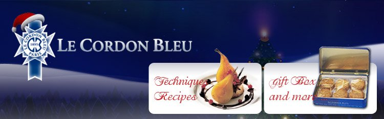 Le Cordon Bleu Christmas sale