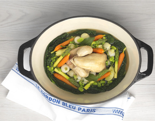 Recipe - Poussin in a pot