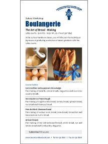 Boulangerie - The Art of Bread-Making Course