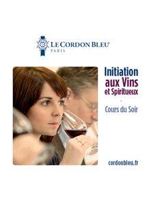 Cours d'initiation aux Vins et Spiritueux
