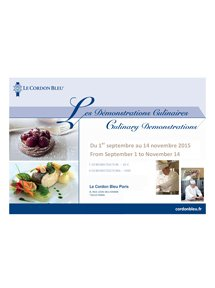 Démonstrations Culinaires