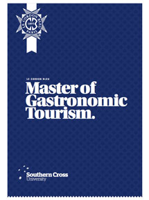 Le Cordon Bleu Master of Gastronomic Tourism Brochure