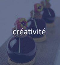 créativité chef pâtissier
