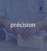 précision chef pâtissier