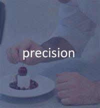 precision pastry chef