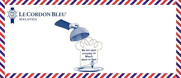 Le Cordon Bleu Malaysia Open Everyday