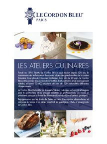 Gourmet workshops and Short Courses