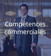 compétences commerciales