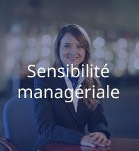 sensibilité managériale