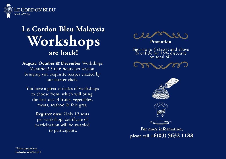 Workshops Marathon!!!