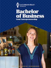 Bachelor of Business (Food Entrepreneurship) brochure