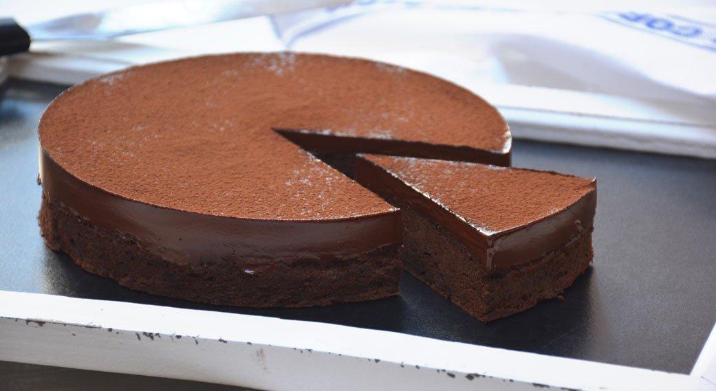 Receta: Pastel de chocolate sin azucar
