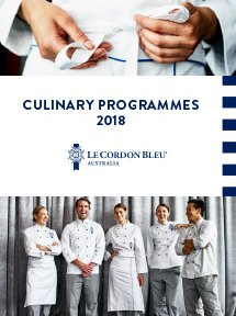 Culinary Programmes 2018