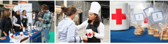 Le Cordon Bleu y Cruz Roja