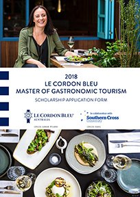 Le Cordon Bleu Master of Gastronomic Tourism -Scholarship