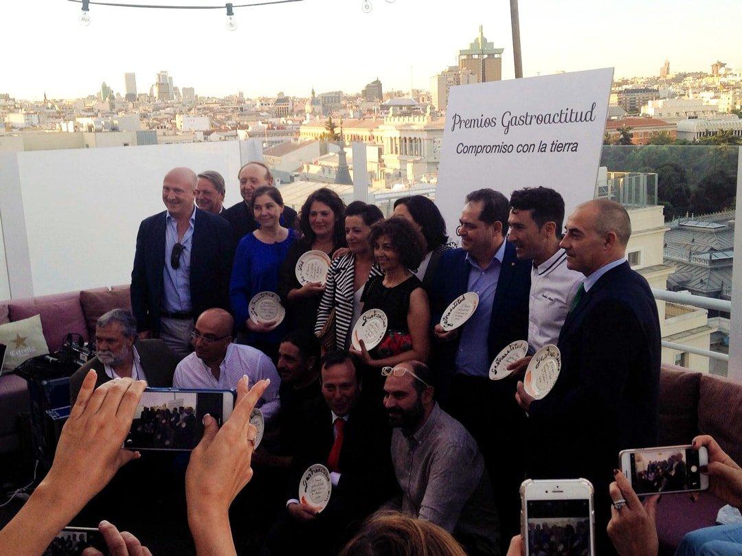 10 ganadores de los 2 Premios Gastroactitud