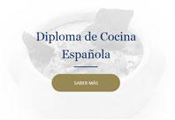 Diploma Cocina Española