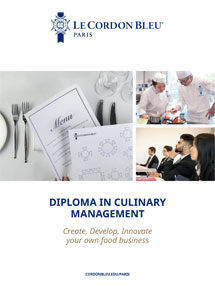 Diploma in Culinary Management