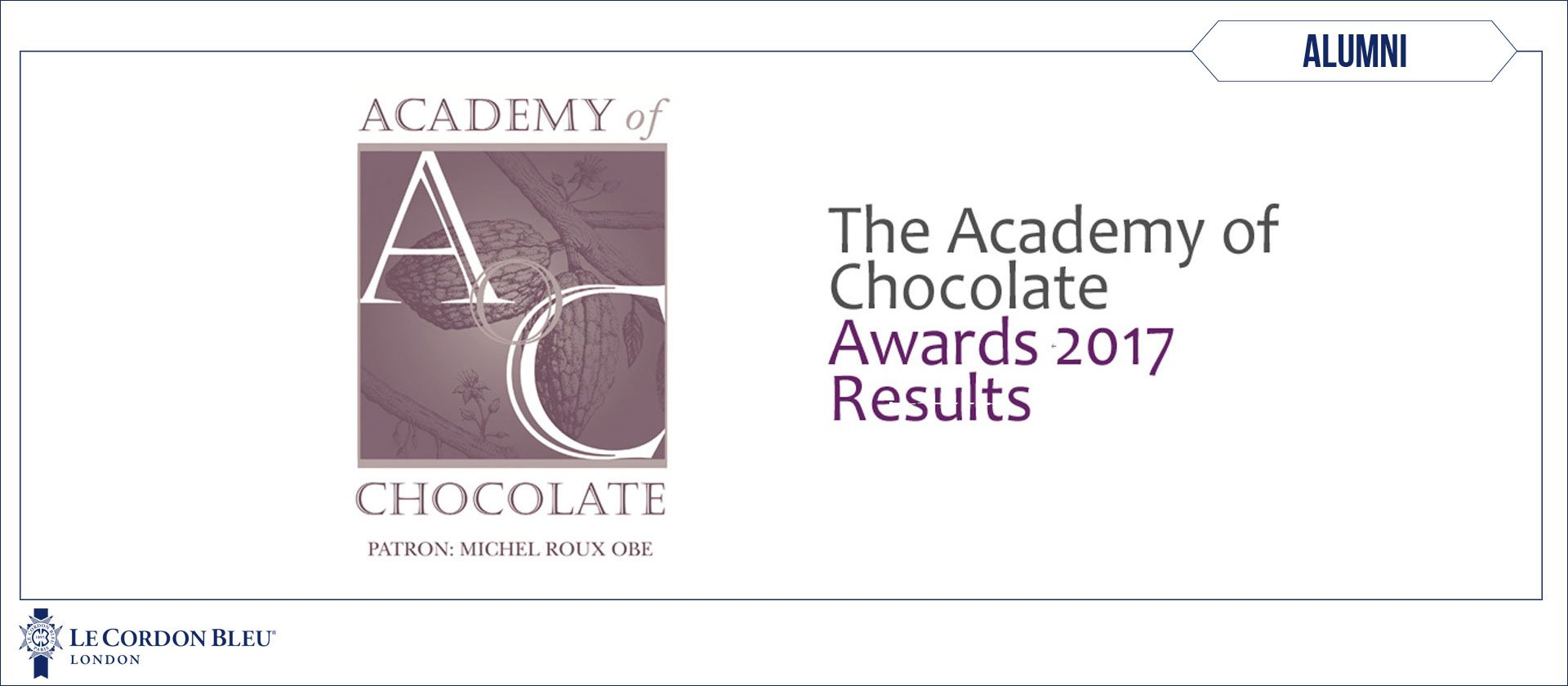 The Academy of Chocolate Awards 2017