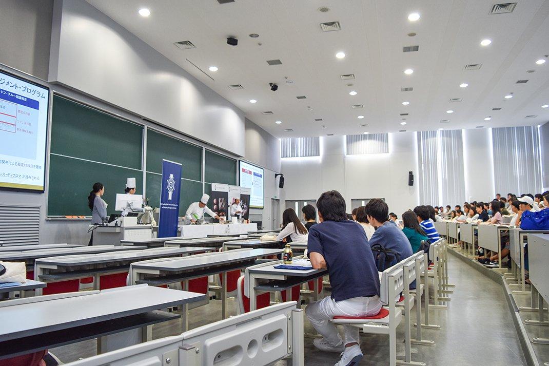 蓝带国际学院日本校参加 2017 年立命馆大学「校园开放日」