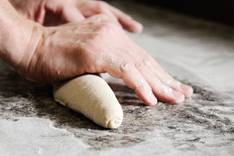 ワークショップ パン:成形ほか