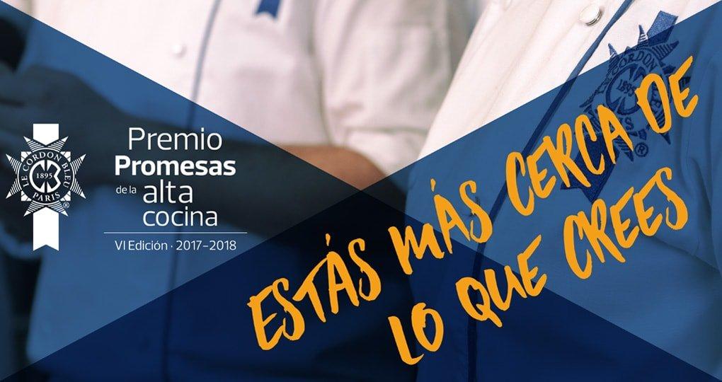 Premio Promesas alta cocina 2017-2018