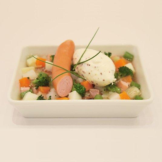 野菜たっぷり 塩豚のポテ