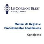 Manual de Regras e Procedimentos Acadêmicos - Candidato